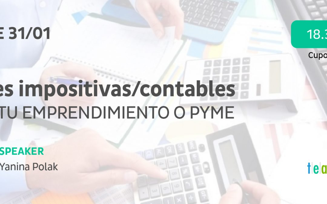 Tax / accounting keys for your Entrepreneurship or PYME