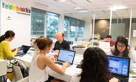 Los emprendedores se vuelcan a los espacios de coworking