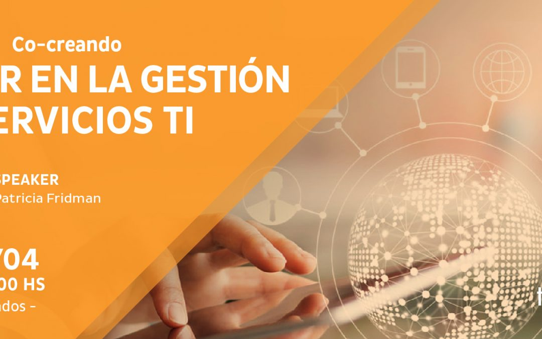 Co-creating value in the management of IT services