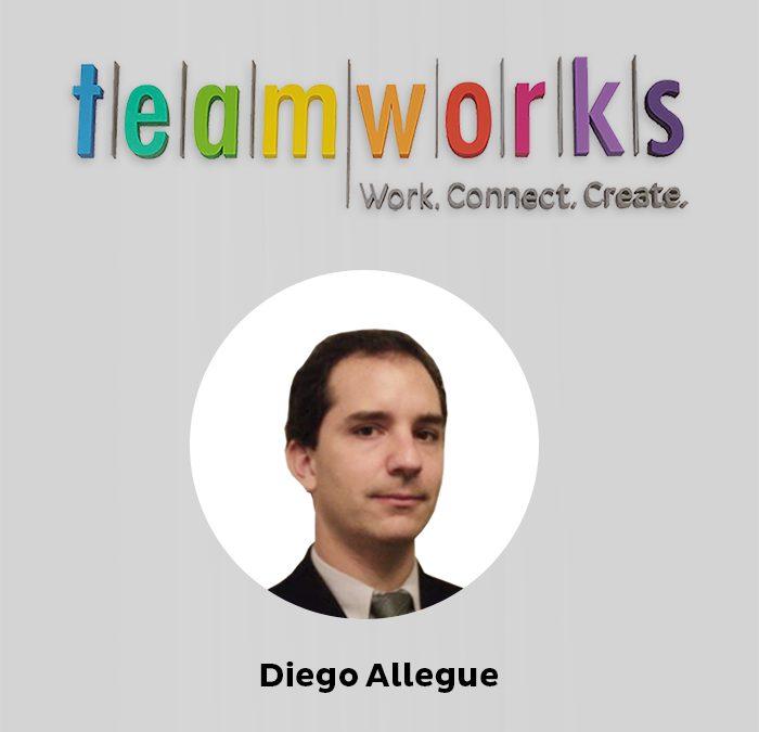 Diego Allegue desembarca en Teamworks