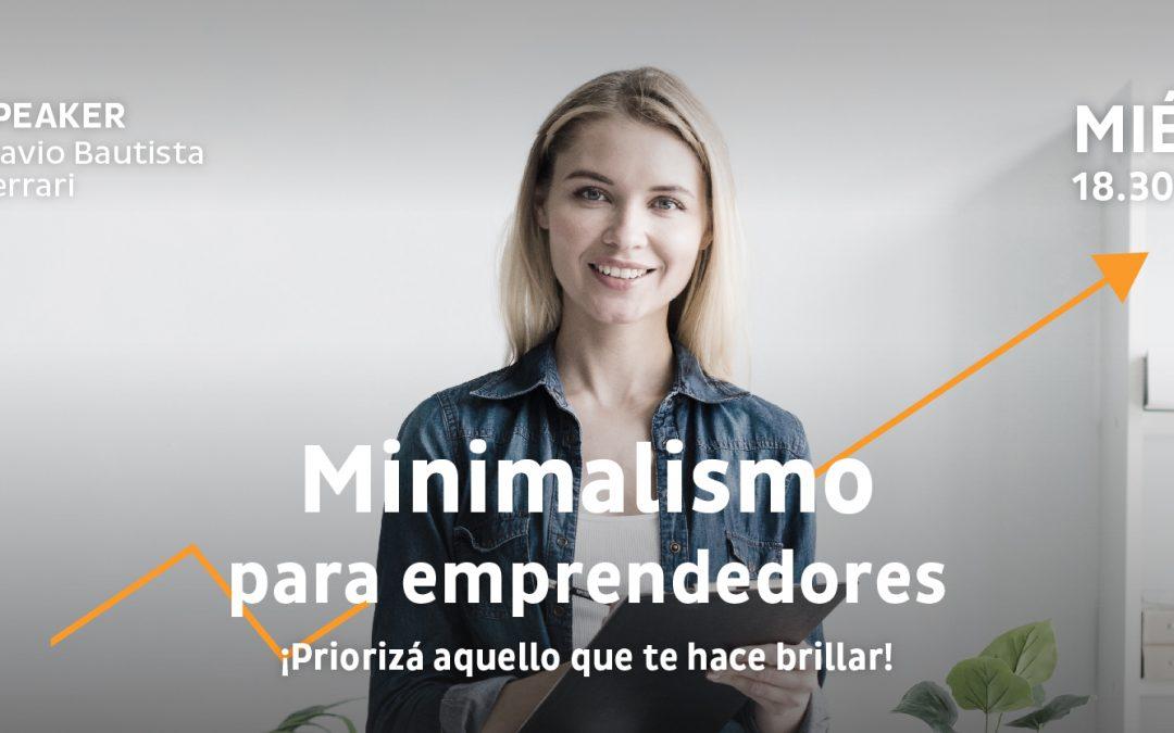 Talk: Minimalism for entrepreneurs